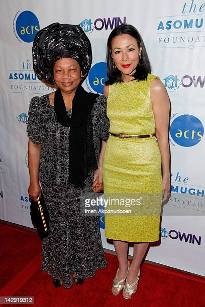 Founder and President of Orphans and Widows In Need Dr Lilian Asomugha and TV personality/journalist Ann Curry attend the 6th Annual Asomugha...