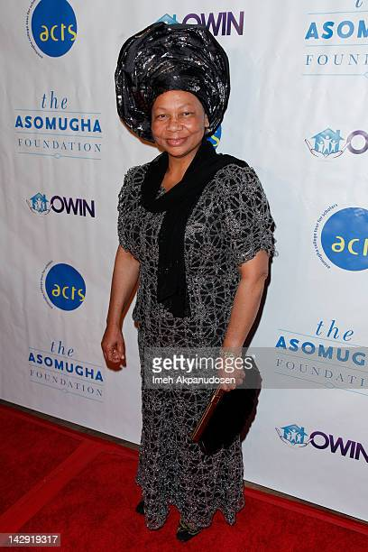 Founder and President of Orphans and Widows In Need Dr Lilian Asomugha attends the 6th Annual Asomugha Foundation Gala 'Service Matters' at the...