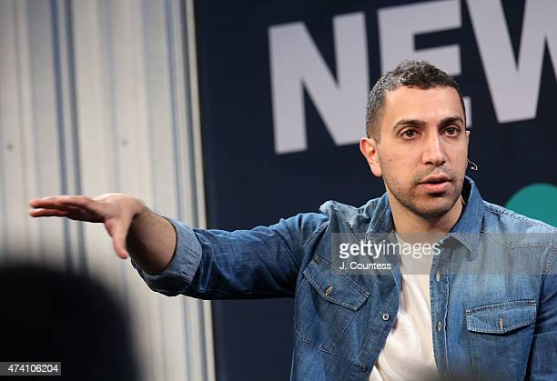 Founder and President of Tinder Sean Rad speaks on the 'More Than Just A Hook Up App' Panal at the 2015 New York Ideas Forum at Center 548 on May 20...