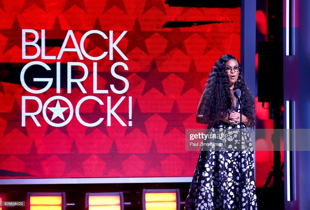 CEO, Founder BLACK GIRLS ROCK! Beverly Bond speaks onstage during the 2017 Black Girls Rock! at NJPAC on August 5, 2017 in Newark, New Jersey.