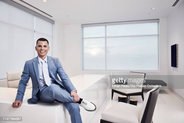 Founder CEO at GT's Kombucha George Thomas Dave is photographed for Forbes Magazine on April 8 2019 in Vernon California CREDIT MUST READ Ethan...
