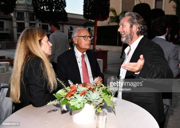 Founder CEO of Abrams Artist Agency Harry Abrams and Founder CEO pocketwatch Chris M Williams attend TheWrap's 8th Annual TheGrill at Montage Beverly...