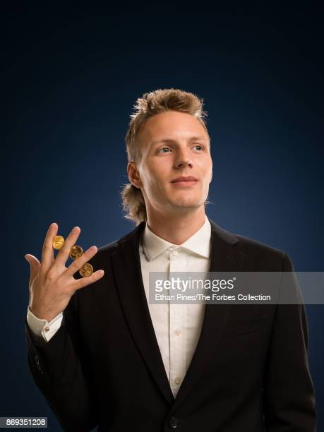 Founder CEO of Polychain Capital Olaf CarlsonWee is photographed for Forbes Magazine on June 22 2017 in San Francisco California CREDIT MUST READ...