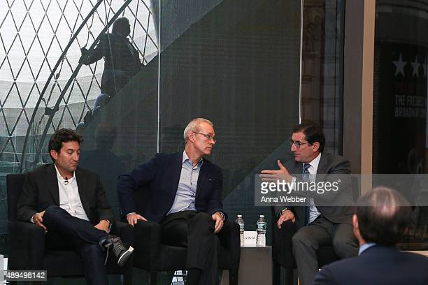 Founder CEO of Shutterstock Jon Oringer Chairman Founder of GILT Business Insider MongoDB and Zola Kevin P Ryan and CEO of Nasdaq Robert Greifeld...