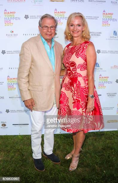 Founder CEO Samuel Waxman MD and Ann Liguori attend Samuel Waxman Cancer Research Foundation 13th Annual Hamptons Happening at a Private Residence on...