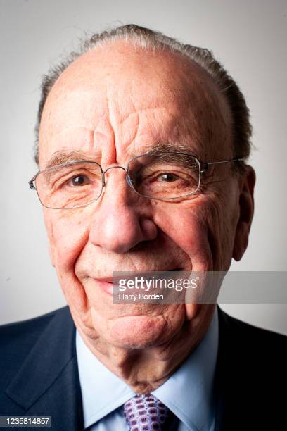 Founder, chairman and CEO of News Corporation, Rupert Murdoch is photographed for Time magazine on June 12, 2007 in London, England.