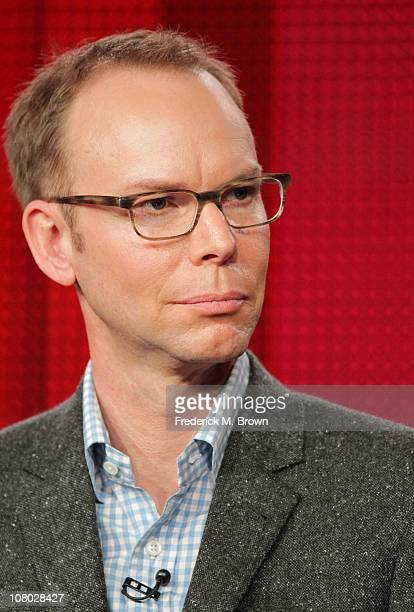 Founder CoCEO and Chairman of Chipotle Steve Ells speaks during the America's Next Great Restaurant panel during the NBC Universal portion of the...