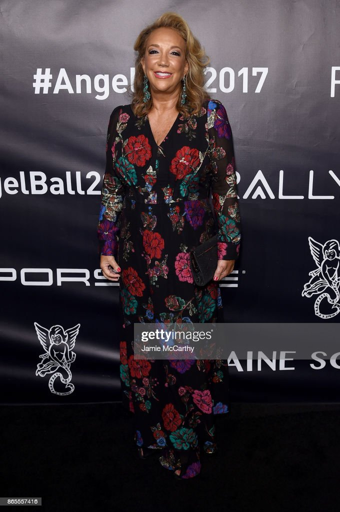 Founder Denise Rich arrives at Gabrielle's Angel Foundation's Angel Ball 2017 at Cipriani Wall Street on October 23, 2017 in New York City.