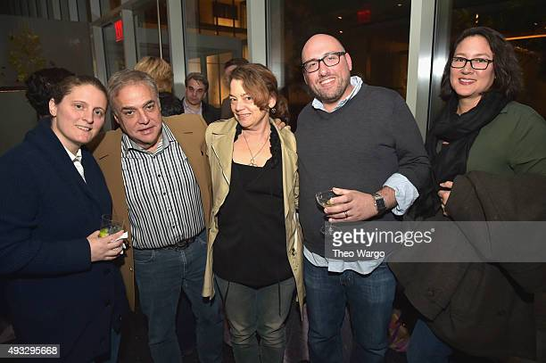 Founder Director of SOBEWFF and NYCWFF Lee Schrager and guests attend the Private Screening Of BURNT QA Panel And Reception With Bradley Cooper And...