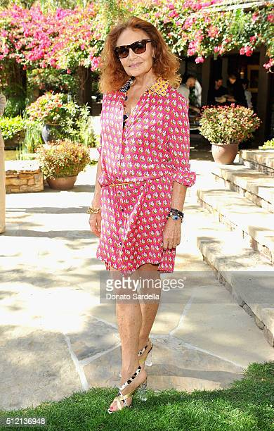 Founder DVF Diane von Furstenberg attends the 3rd Annual DVF Oscar Luncheon honoring the female nominees of the 88th Academy Awards on February 24...