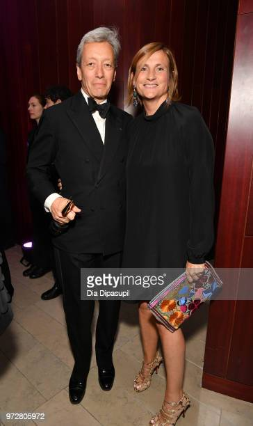 Founder Editions de Parfum Frederic Malle Recipient Game Changer Award Frederic Malle and Marie Malle attends 2018 Fragrance Foundation Awards at...