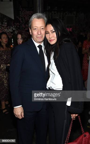 Founder EDPFM Frederic Malle and guest attend an intimate dinner hosted by The Business of Fashion to celebrate its latest special print edition 'The...