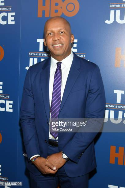 Founder Executive Director of Equal Justice Initiative Bryan Stevenson attends True Justice Bryan Stevenson's Fight For Equality New York Screening...