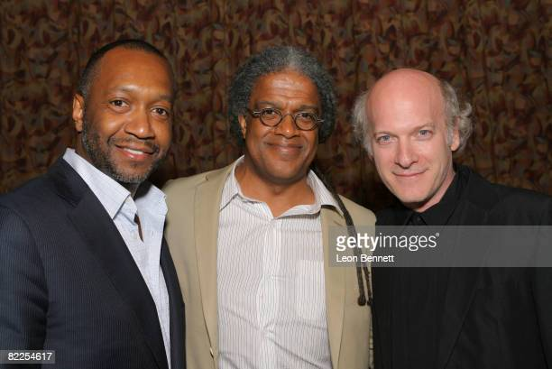 Founder Jeff Friday and Producer/Film Critic Elvis Mithchell and Director Timothy GreenfieldSanders attends the Closing Night Gala of the 12th Annual...