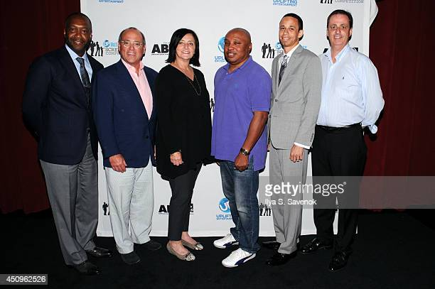 ABFF Founder Jeff Friday UP Vice Chairman Brad Siegel UP SVP Original Programming Barbara Fisher Christopher Brandt Selton Shaw and Wesley Doherty...