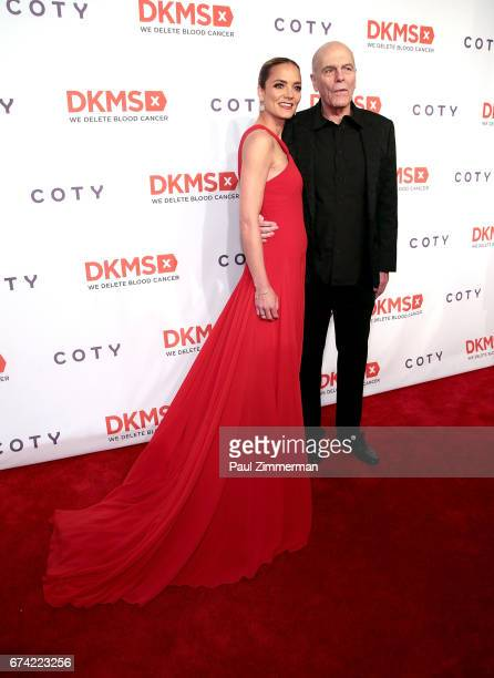 DKMS founder Katharina Harf and Peter Harf attend the 11th Annual DKMS Big Love Gala at Cipriani Wall Street on April 27 2017 in New York City