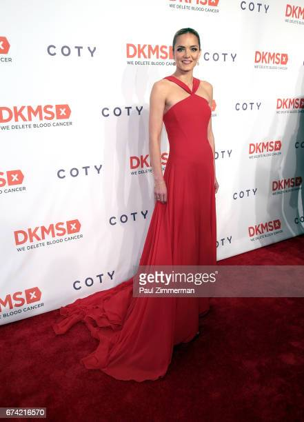 DKMS founder Katharina Harf attends the 11th Annual DKMS Big Love Gala at Cipriani Wall Street on April 27 2017 in New York City