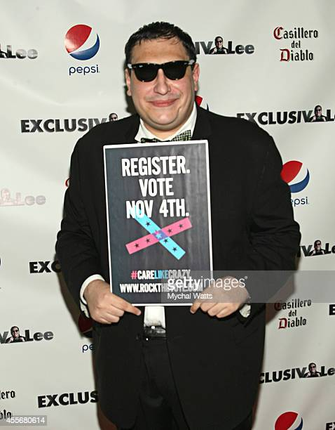 Founder Lee Hernandez attends the Exclusivleecom Launch Party>> at Stray Kat Gallery on September 18 2014 in New York City