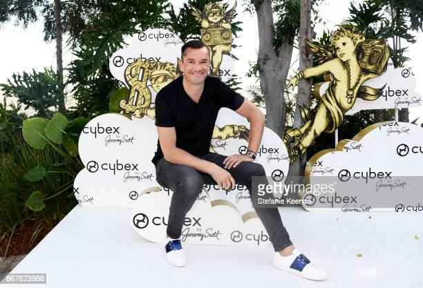 Founder Martin Pos at the Cybex by Jeremy Scott Cherub Halloween Launch Celebration on October 28 2017 in Los Angeles California