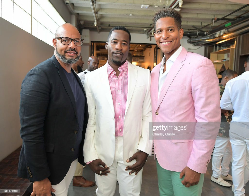 Native Son Hosts Its First Los Angeles Event On August 13th Inpartnership with AIDS Healthcare Foundation (AHF) In Celebration Of Black Gay Men's Wellness Month : News Photo