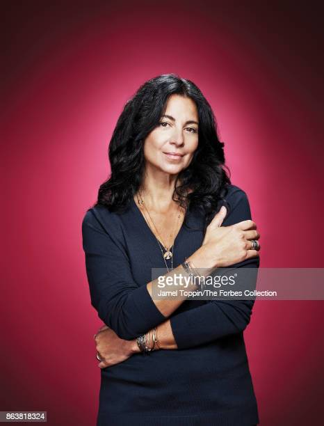 Founder of Alex and Ani Carolyn Rafaelian is photographed for Forbes Magazine on November 3 2016 in Cranston Rhode Island COVER IMAGE CREDIT MUST...