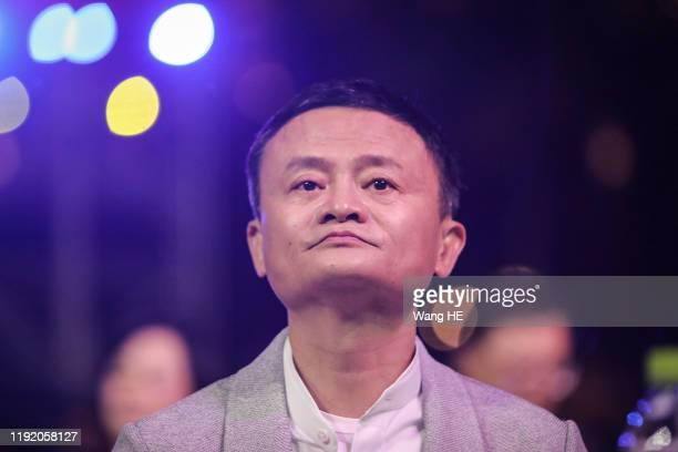 Founder of Alibaba Group Jack Ma present at the 'Ma Yun Rural Teachers and Headmasters Prize' awards show on January 6th, 2020 in Sanya , Hainan...