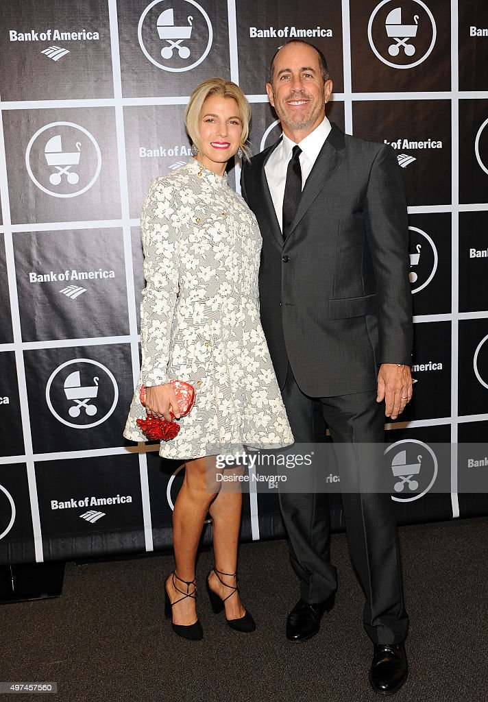 Founder of Baby Buggy, Jessica Seinfeld and comedian Jerry Seinfeld attend Baby Buggy's 15 Year Celebration at The Beacon Hotel on November 16, 2015 in New York City.