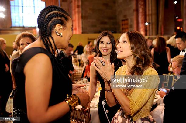 Founder of Black Girls Rock Beverly Bond and actress Sarah Jessica Parker attend Variety Power Of Women New York presented by FYI at Cipriani 42nd...