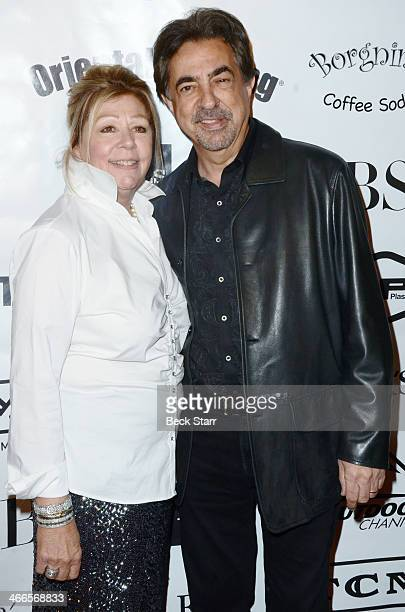 Founder of Borgnine Group Nancee Borgnine and honoree actor Joe Mantegna attend the 2nd Annual Borgnine Movie Star Gala at Sportman's Lodge on...