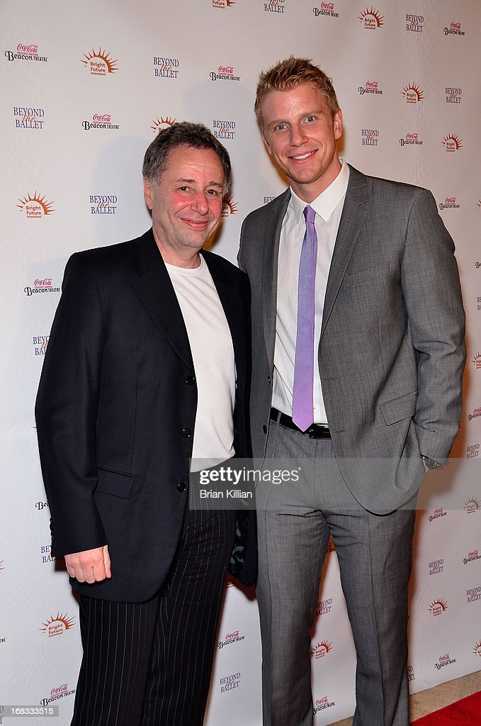 Founder of Bright Future International Anthony Melikhov and TV personality Sean Lowe attend Beyond The Ballet Showcase Gala at The Beacon Theatre on May 8, 2013 in New York City.