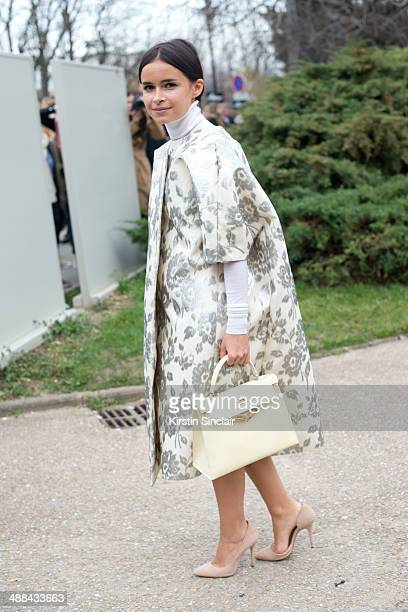 Founder of Buro247 Miroslava Duma on day 6 of Paris Collections Women on March 02 2014 in Paris France