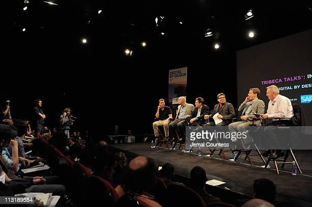 Founder of Cinetic Media and Sloss Eckhouse LawCo LLP, John Sloss, CEO of Miramax, Michael Lang, President of Digital at Paramount, Tom Lesinski,...