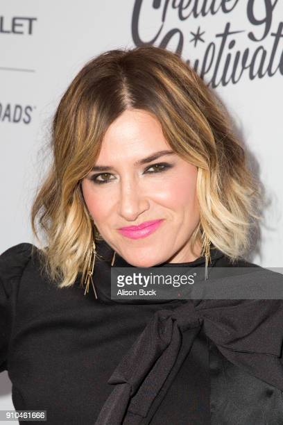 Founder of Drybar Alli Webb attends Create Cultivate and Chevrolet Host Create Cultivate 100 on January 25 2018 in Culver City California
