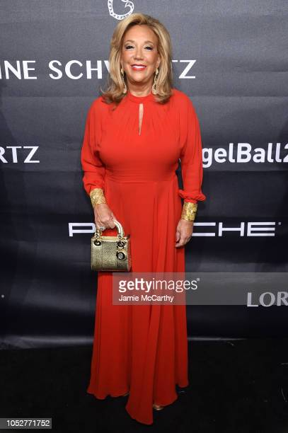 Founder of Gabrielle's Angel Foundation Denise Rich attends the 2018 Angel Ball hosted by Gabrielle's Angel Foundation at Cipriani Wall Street on...