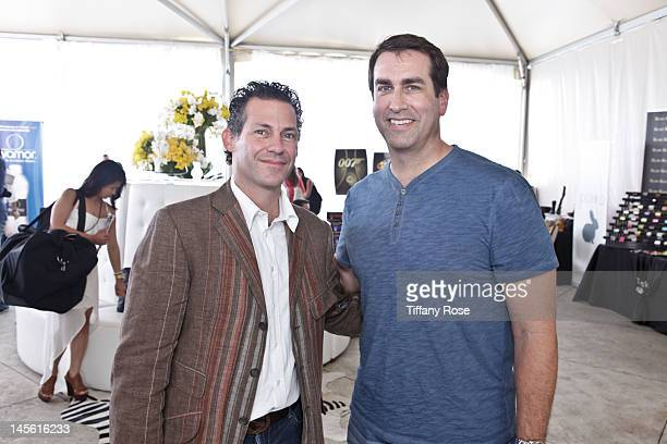 CEO Founder of GBK Productions Gavin Keilly and actor Rob Riggle attend GBK Gift Lounge In Honor of The MTV Movie Award Nominees And Presenters Day 2...