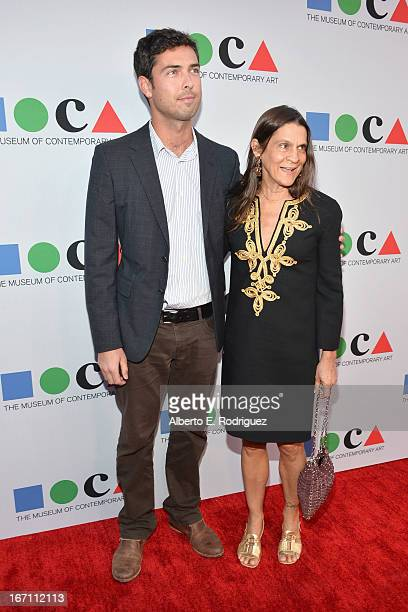 "Founder of GettLove Aileen Getty attends ""Yesssss"" MOCA Gala 2013 Celebrating the Opening of the Exhibition Urs Fischer at MOCA Grand Avenue and The..."