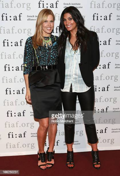 Founder of GLAM4GOOD Mary Alice Stephenson and designer and philanthropist Rachel Roy attends FIAF Presents The Power Of Style at Florence Gould Hall...