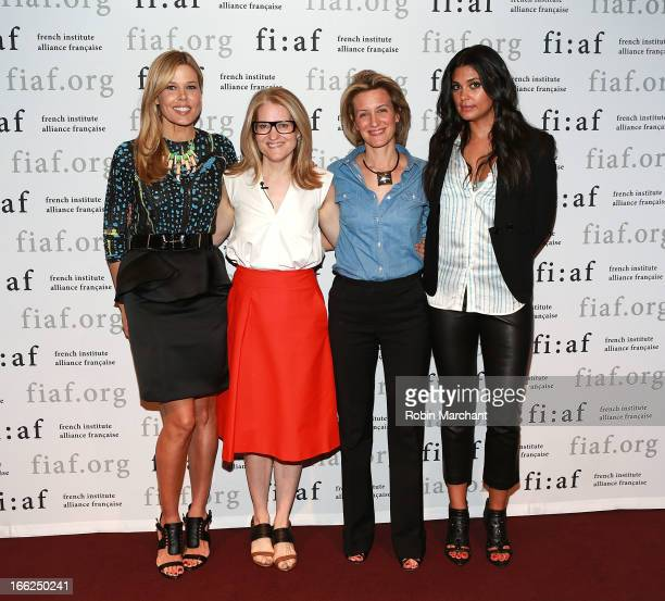 Founder of GLAM4GOOD Mary Alice Stephenson Beauty Director of W Magazine Jane Larkworthy Director of Art de Vivre programs FIAF Melissa Ceria and...