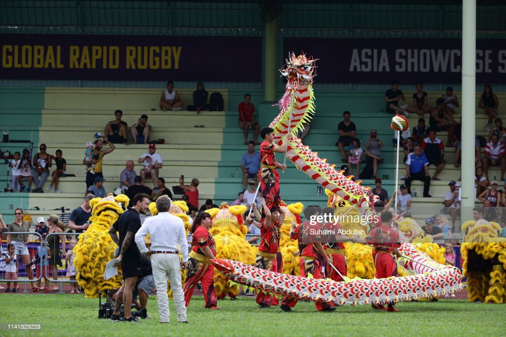 Asia Pacific Dragons v Western Force : News Photo