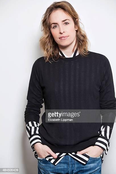 Founder of handbag line Edie Parker Brett Heyman is photographed for Vensette on February 4 2015 in New York City