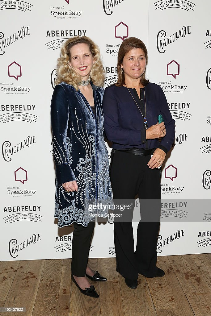 Founder of House of SpeakEasy, Amanda Foreman (L) attends the 2015 House Of SpeakEasy Gala at City Winery on January 28, 2015 in New York City.
