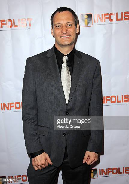 Founder of InfoList Jeff Gund arrives for the InfoList PreOscar Soiree And Birthday Party for Jeff Gund held at OHM Nightclub on February 18 2016 in...