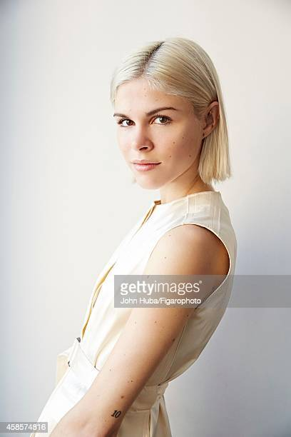 Founder of Into the Gloss Emily Weiss is photographed for Madame Figaro on January 24 2014 in New York City CREDIT MUST READ John...