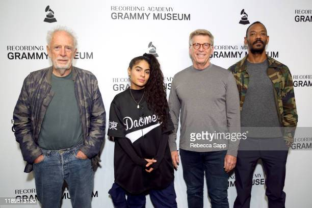 Founder of Island Records Chris Blackwell, Jessie Reyez, GRAMMY Museum's Founding Executive Director Bob Santelli and President of Island Records...