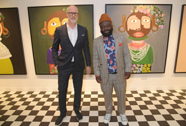 """GBR: """"Kojo Marfo:Dreaming Of Identity"""" Private View And JD Malat Gallery 3rd Birthday Celebration"""