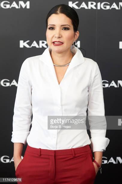founder of Karigam Karina Gamez during the presentation of her brand on September 12 2019 in Madrid Spain