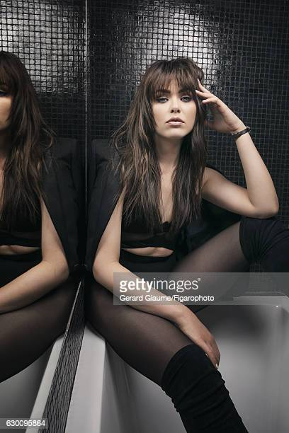 Founder of Kayturecom Kristina Bazan is photographed for Madame Figaro on May 17 2016 in Cannes France Body jacket watch tights PUBLISHED IMAGE...