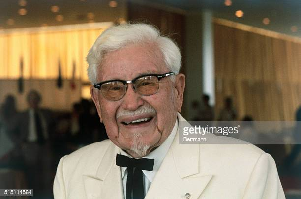 Founder of Kentucky Fried Chicken Colonel Harland Sanders