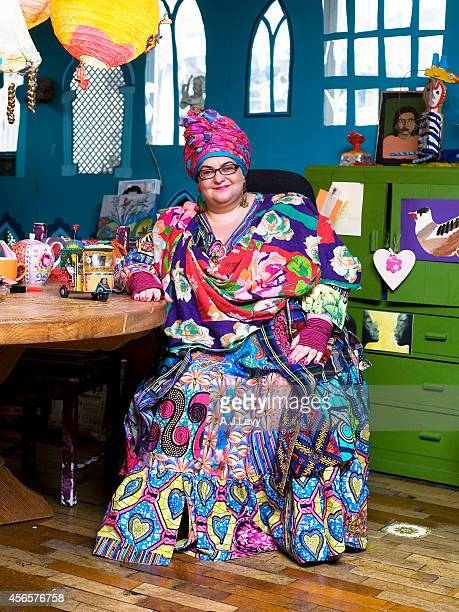 Founder of Kids Company Camila Batmanghelidjh is photographed for Independent in London England