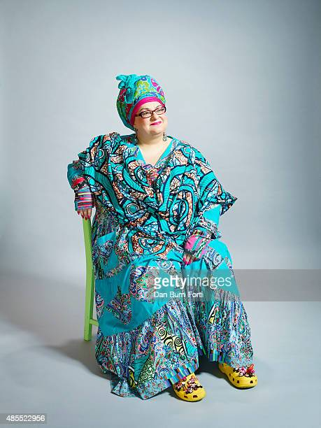 Founder of Kids Company Camila Batmanghelidjh is photographed for the Independent on September 30 2014 in London England